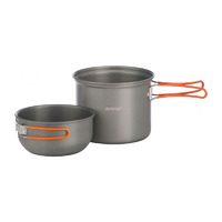 Hard Anodised Non Stick Cook Kit, 1 Person