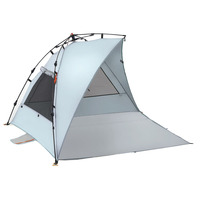 Harekohu Plus Beach Sunshade, Light Blue