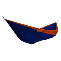 Double Parachute Hammock, Royal Blue/ Orange