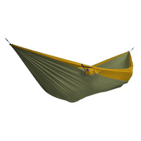 Double Parachute Hammock, Chaki/ Dark Yellow