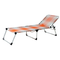 Aluminum Beach Bed, Large Textilene