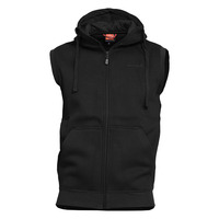 Thespis Hoody Vest, Black