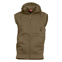 Thespis Hoody Vest, Coyote
