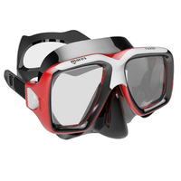 Snorkeling Mask, Rover, Red