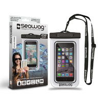 Waterproof Case for Smartphones, Clear/ Black