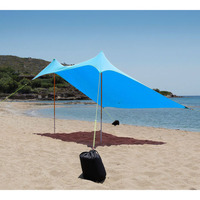 Sun Shade Salty Tribe 3x2,5 m, Blue
