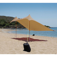 Sun Shade Aeolians 2x2 m, Brown