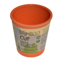 Bamboo Cup 297 ml, Πορτοκαλί