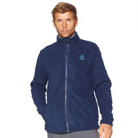 Fleece Jacket Kluane Full Zip, Blue