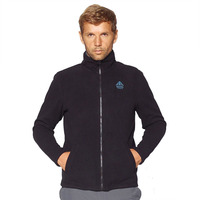Fleece Jacket Kluane Full Zip, Black