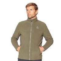 Fleece Jacket Kluane Full Zip, Khaki
