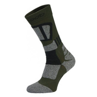Trekking Socks Stt, Black/ Green