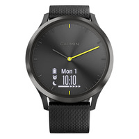 Smartwatch Vivomove HR, Black-Black, L