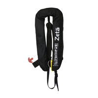 Lifejacket Zeta 290N, Automatic with D-Ring & crotch Strap, Black