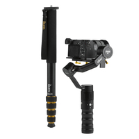 DS2-A, 3 Axis Gimbal for Pro Cameras up to 1.8 kg & Monopod Extension Kit
