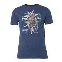 T-shirt Warped, Blue