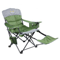 Monarch Footrest D, Green