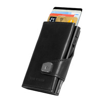 Click & Slide Wallet, Nappa Black