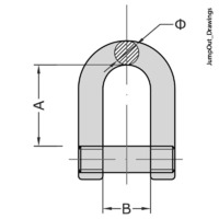 Allen Head Pin Shackle D
