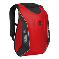 Mach 5 Motorcycle Backpack, Red