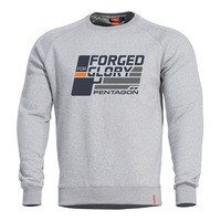 "Hawk Sweater, ""Forged For Glory"", Grey"