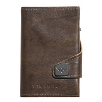 Click & Slide Wallet, Caramba Mossgreen - Yellow/ Gold