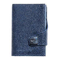 Click & Slide Wallet, Sting Ray Blue / Titan