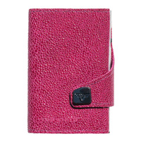 Click & Slide Wallet, Sting Ray Fuchsia / Silver