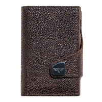 Click & Slide Wallet, Sting Ray Brown