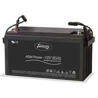 AGM-Power 12 V, 80 Ah