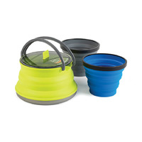 Collapsible Set for Hot Brews for 2 Persons, X-Set 11