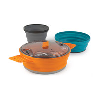 Collapsible Cook Set for 1 Person, X-Set 21