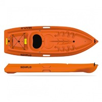 One-seat Kayak for 1 adult & 1 kid, SF-2001 Primus 1, Orange