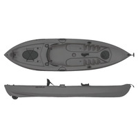One-seat Kayak for Fishing, SF-1007 Lupin, Grey