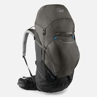 Backpack Cerro Torre, 65:85 lt, Black/ Greyhound