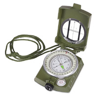Hiking and Travel Compass Green