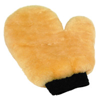 Genuine Sheepskin Wash/ Dust Mitt with thumb