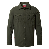 NosiLife Adventure Long-Sleeved Shirt - Dark Khaki