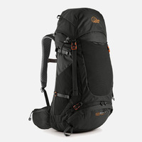 Backpack Airzone Trek+, 35:45 lt, Black