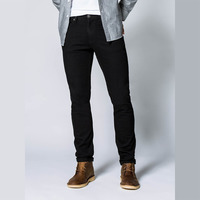 Performance Denim, Slim, Black