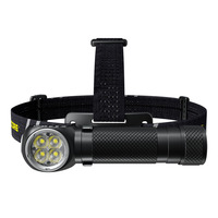 Rechargeable Headlamp HC35, 2700 Lumens + Battery 21700