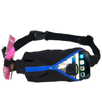 Spibelt Performance, Black/ Blue Zipper