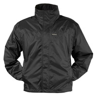 Atlantic Breathable Rain Jacket, Black