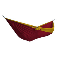 Double Parachute Hammock, Burgundy/ Dark Yellow