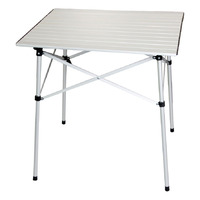 Slat Aluminum Table