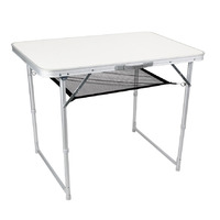 Folding Aluminum Table, Single