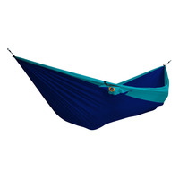 Double Parachute Hammock, Royal Blue/ Τurquoise