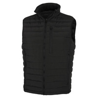 Patroclus Duck Down Vest, Black